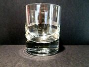 Crown Royal Rocks Shot Double Old Fashion Glass Crown On Pillow Italy Vintage