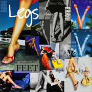 Womenand039s Feet Legs Thighs Toes Ankles Print Ad - Your Choice Combined Shipping