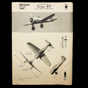 Wwii Japanese Fighter Nakajima Type 97 And039nateand039 Training W.e.f.t.u.p. Id Poster