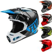 Fly Mens Bike Racing Motocross Helmets - Formula Dot Off Road Dirt Vector Carbon