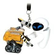 Disney Parks Wall-e And Eve 3d Christmas Ornament New With Tags
