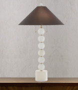 Tall Modern Classic Natural Alabaster Stone Table Lamp Living Rm Bedside Or Desk