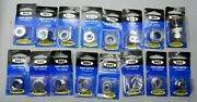 Plumber's New Old Stock 32 Pieces 16 Different Sizes Faucet Adaptors Brasscraft
