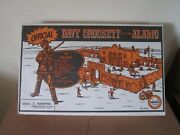 Vintage Marx Davy Crocket And The Alamo Playset1990's Repro.