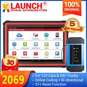 Launch X431 Pro3s+hdiii Diesel And Gasoline Bidirectional Diagnostic Scanner Tool