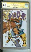 Thor 337 Cgc 9.8 Ss Signed By Walter Simonson Reprint Copy