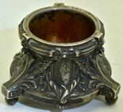 Antique Imperial Russian Silver Mustard Holder Wedding Gift C1902.very Rare