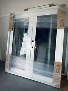 Series Fd 2100 Outswing French Door. 72x80 White Aluminum. Cat 5 Resistant 🌪