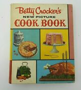 Vintage 1961 Betty Crocker's New Picture Cookbook 1st Edition 4th Printing