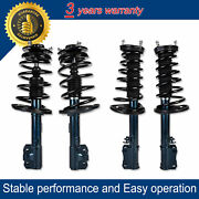 Front + Rear Struts And Coil Spring For 2004-2006 Lexus Es330 Toyota Camry Solara