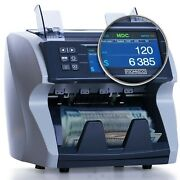 Money Cash Bill Counter Machine Cash Value Counting Machine For Multiple Cur...
