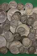 Make Offer 3 Troy Pounds 1964 Kennedy Mercury Roosevelt Junk 90 Silver Coins