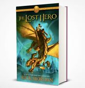 The Lost Hero By Rick Riordan Book One First Edition W/ Dust Jacket