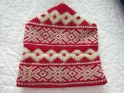 ❤️ Vintage Lisa's Lids 100 Wool Knitted Hat Made In New Castle, Colorado ❤️