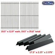 Grill Replacement Parts Flavorizer Bars + Cooking Grate For Weber Genesis 300