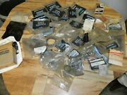 Lot Of New Mercury Quicksilver Misc. Parts 58 Piece Gaskets Snap Rings Bearing
