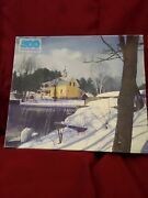 Golden Guild 500 Piece Jigsaw Puzzle Winter In The Pond 15.5 X 18 Ages10 Up
