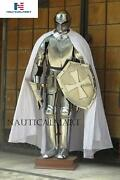 Full Suit Of Armor Medieval Knight Wearable Collectible Armour Costume