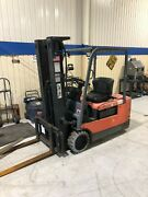 Toyota 5fbe20 36v Electric Battery Forklift 3000 Lbs Capacity