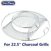 Cooking Grates For Weber 22.5 Inch One-touch Silver Bar-b-kettle Master-touch