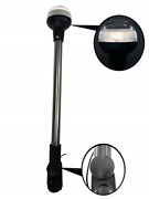 Pactrade Marine Fold Down Pontoon Boat Led 16 H All-round Anchor Light White