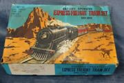 Antique Deluxe Express Freight Train Set Small