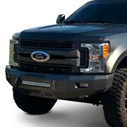 For Ford F-250 Super Duty 99-04 Bumper Low Profile Series Full Width Raw Front