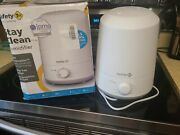 Safety 1st Stay Clean Humidifier -kills Bacteria And Prevents Mold Growth Tested