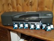 Hp Designjet 800 24 Large-format Plotter With Ink Cartridge And Printheads