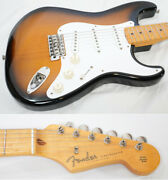 Used 1999-2002 Fender Japan St57-70tx 2t Mij Stratocaster Texas Special Pu W/gb