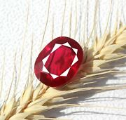 Best Deal Offer 36.30ct Untreated Vvs Clarity Shiny Natural Red Ruby Gems Mg1534