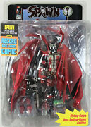Classic Spawn Kickstarter Action Figure In Hand Autographed By Todd Mcfarlane