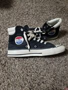 Converse The Winner By Sears 1970s Black White Vintage High Top Menandrsquos Sz 1011
