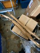 1964 1/2-66 Nos Mustang And 65-66 Shelby Pair Door Glass Run Channel And Bracket