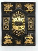 New Illustrated Polyglot Family Bible, Salesman Agent's Canvassing Book Antique