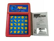 1990 Vintage Perfection Game By Milton Bradley Complete, Free Shipping Euc Works