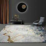 Carpet Area Rugs Mats Marble Patterned Rectangular Floor Home Decoration Carpets