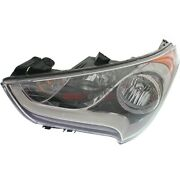 New Head Lamp Assembly Left Fits 2012-2017 Hyundai Veloster 11909684