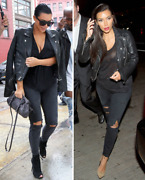 J Brand Famous Sold Out Ripped Black Cropped Skinny Jeans Stunning On Curves