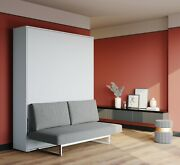 Murphy Bed With Couch Great Space Saving Furniture Available In Full And Queen