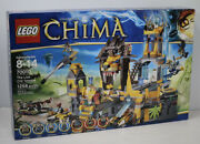 Lego 70010 Legends Of Chima The Lion Chi Temple New Factory Sealed - Retired
