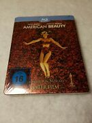 American Beauty Steelbook Blu Ray German Limited Edition Sold Out Sealed