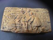 Rare 1700andrsquos Wooden Snuff Box Very Cool