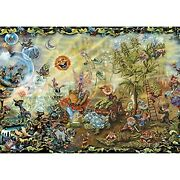 Jmbeauuuty 2000 Piece Jigsaw Puzzles For Adults Fantasy Green Plants Puzzle S...