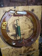 Vintage Ford Naa Tractor - Brake Shoes And Springs - Rh