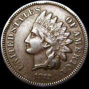 1872 Indian Cent Penny ---- Nice L@@k ---- M049