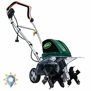 Tc70135s 13.5-amp 16-inch Corded Tiller/cultivator 11 Wide And 8 Deep Green