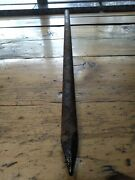 Antique Drill Steel 1 X 32 Custom Chipping End From Leadville Colorado Ov