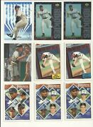 Baseball Rookie Rc Only 69 Card Lot 1987-1995 Scan Nm To Gm-mt A-rod, Hofs