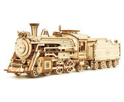 Train Model 3d Wooden Puzzle Toy Assembly Model Building Kits For Children Gift